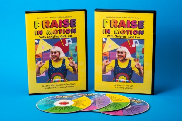 PRAISE IN MOTION 2 DVD + 2 CD BUNDLE (SAVE $5.95!)