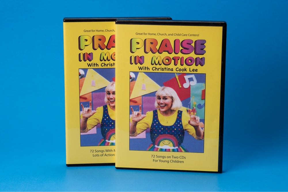 PRAISE IN MOTION 2 DVD + 2 CD BUNDLE (SAVE $5.95!)
