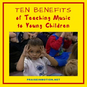 Ten benefits of teaching music to young children